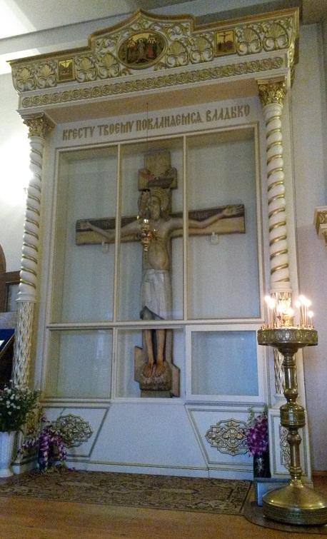 Копия Годеновского Креста в монастыре Животворящего Креста