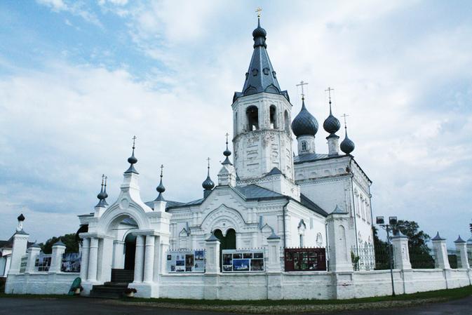 Храм Иоанна Златоуста в Годеново, Животворящий Крест