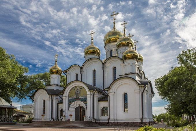 Переславский Никольский женский монастырь. Переславль Залесский.