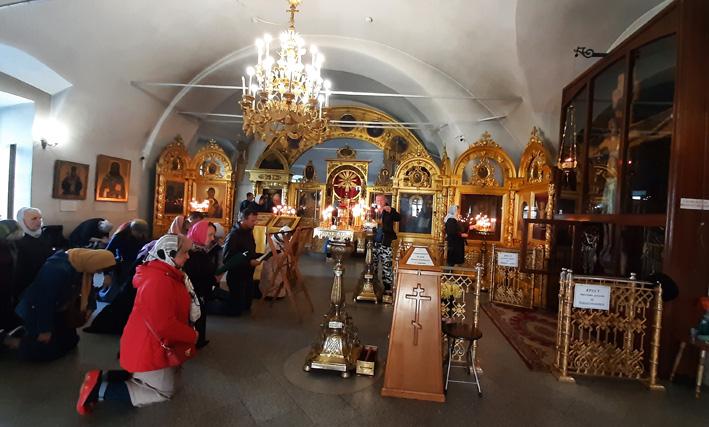 Чудеса и исцеления у Животворящего Креста в Годеново